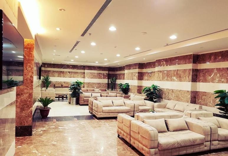 Al Rkaez Hotel, Mecka, Entrén inifrån