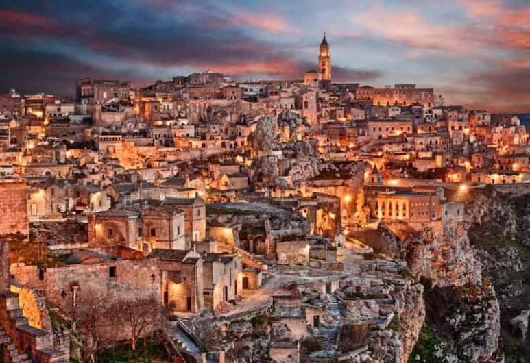 Studio in Matera, With Furnished Terrace and Wifi - 40 km From the Beach, Matera, Pogled na grad
