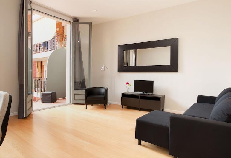 Modern Center Apartments, บาร์เซโลนา, อพาร์ทเมนท์, 1 ห้องนอน, ห้องนั่งเล่น