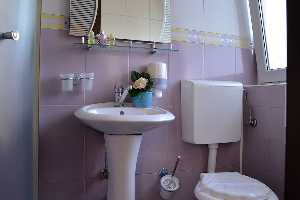 Номер з 2 односпальними ліжками, приватна ванна - Ванна кімната
