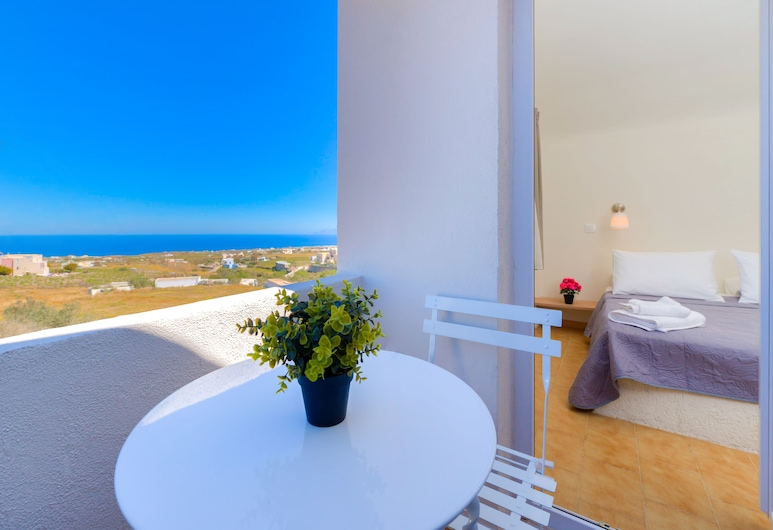 Alexander's Great View, Santorini, Triple Room, Sea View (Paros), Balcony View