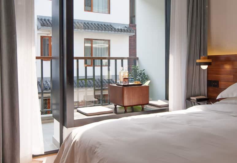 Hangzhou Backlighting Inn, Hangzhou, Kamar Double, Kamar Tamu