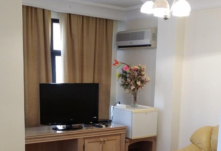 Sahara Line Hotel, Laayoune, Apartmá typu Royal, Obývací prostor