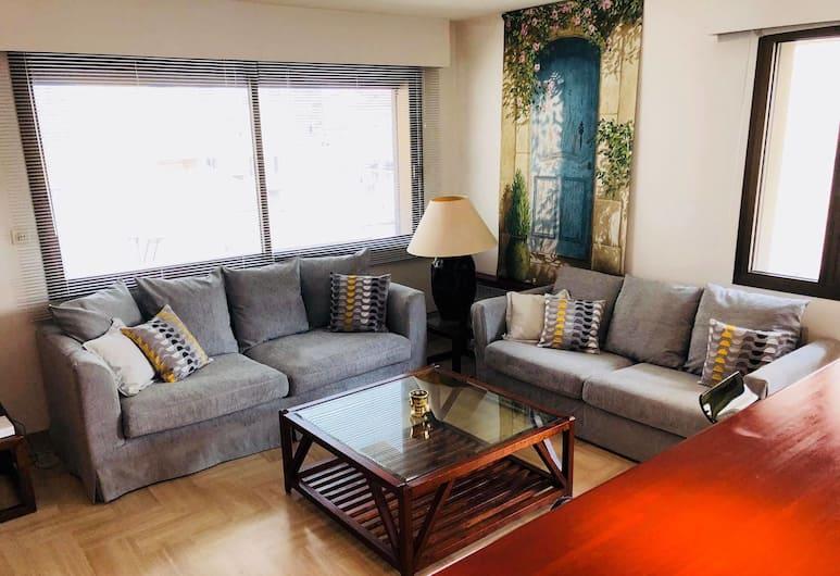 Gray D'Albion Apartment, Cannes, Appartement, Salle de séjour