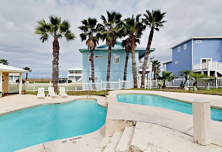Aransas Tarpon - 5 Br Home, Port Aransas, Maja, 5 magamistoaga, Bassein