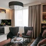 Deluxe-Apartment (Tianjin) - Wohnzimmer