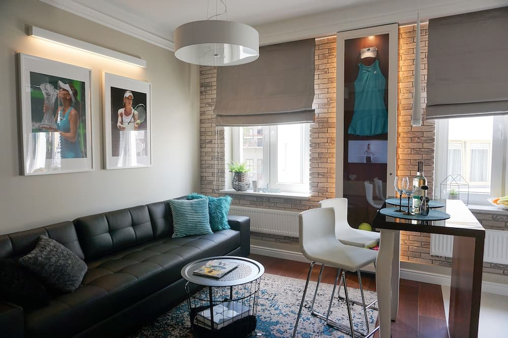 Superior-Apartment (Miami) - Wohnzimmer