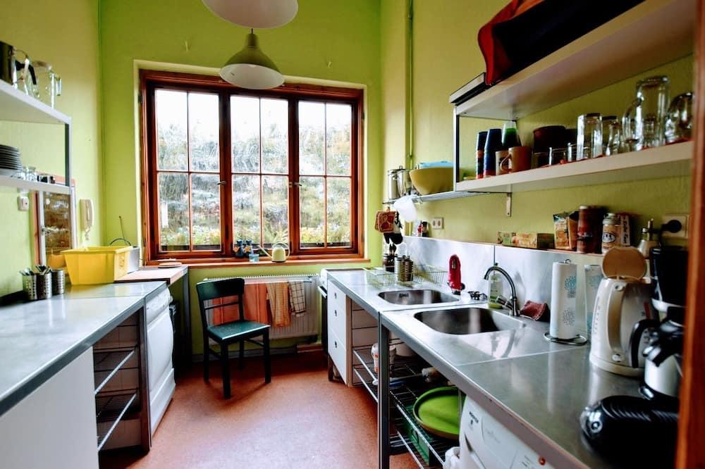 Vienvietīgs numurs, koplietojuma vannasistaba - Kopīga virtuve