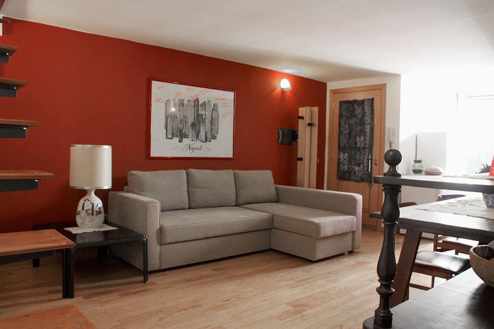 Komforta dzīvokļnumurs, viena guļamistaba (Trento) - Dzīvojamā istaba