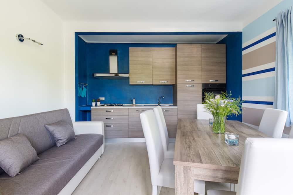 Pagerinto tipo apartamentai, 2 miegamieji - Svetainė