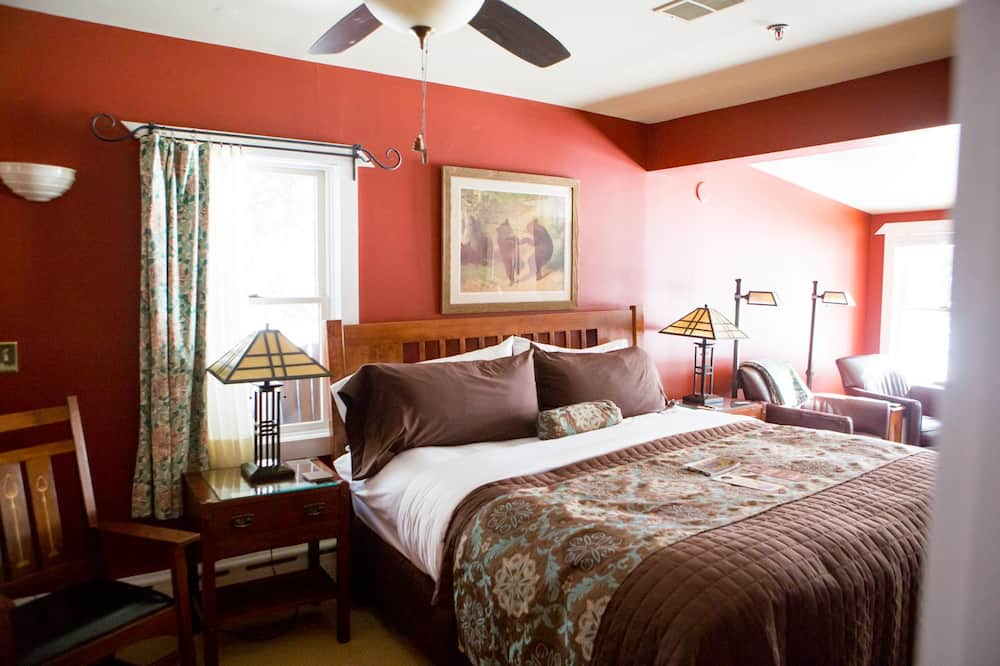 Deluxe Single Room, 1 King Bed, Balcony, Lake View - Lake View