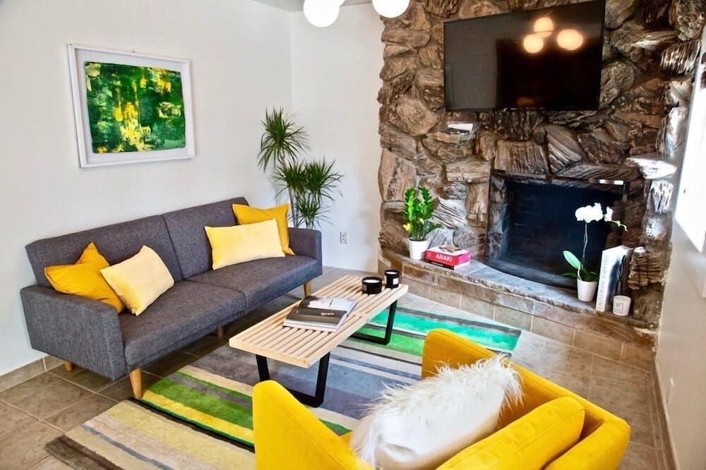 Ferienhaus, 1 Schlafzimmer, Nichtraucher - Wohnbereich