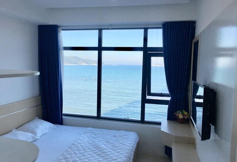 Hon Chong condotel, ญาจาง, สแตนดาร์ดอพาร์ทเมนท์, 2 ห้องนอน, วิวทะเล, ริมทะเล, วิวทะเล/มหาสมุทร