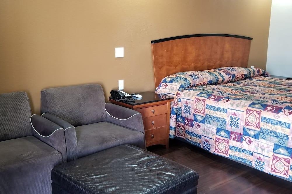 Habitación, 1 cama King size, para fumadores - Sala de estar