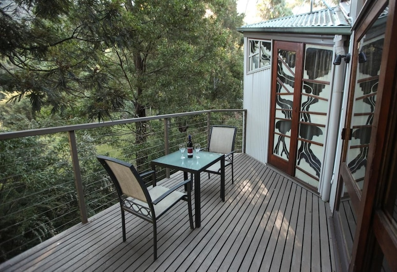 The Lodges, Halls Gap, Superior Villa, Balcony