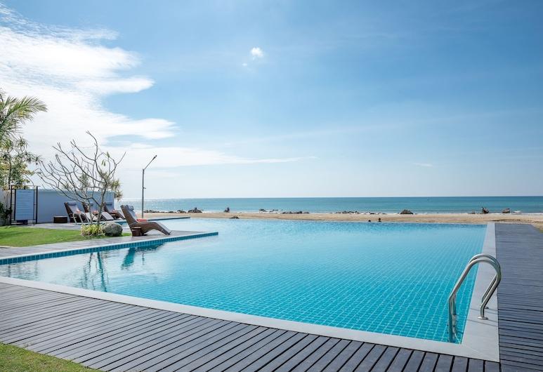 RIA Resort, Plážový rezort Ngwe Saung, Vonkajší bazén