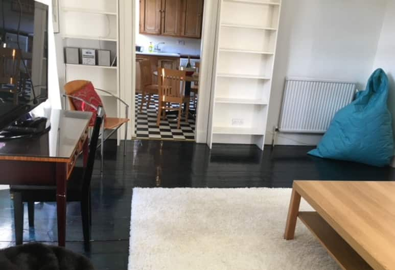 Spacious 4 Bedrooms Apartment in City Centre, Edinburgh, Woonkamer