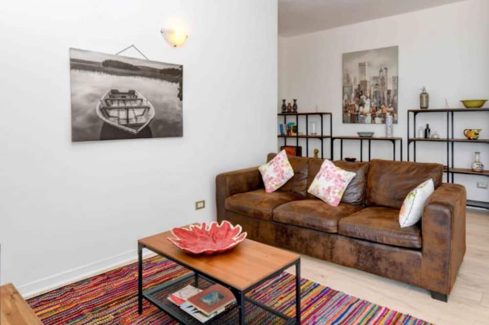 Apartment, 2Schlafzimmer, Seeblick - Wohnbereich