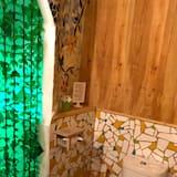 חדר קומפורט טווין, ללא עישון, נוף לנהר - חדר רחצה