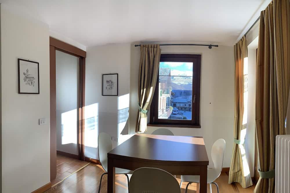 Apartment (Vista Ghiacciaio) - Living Area