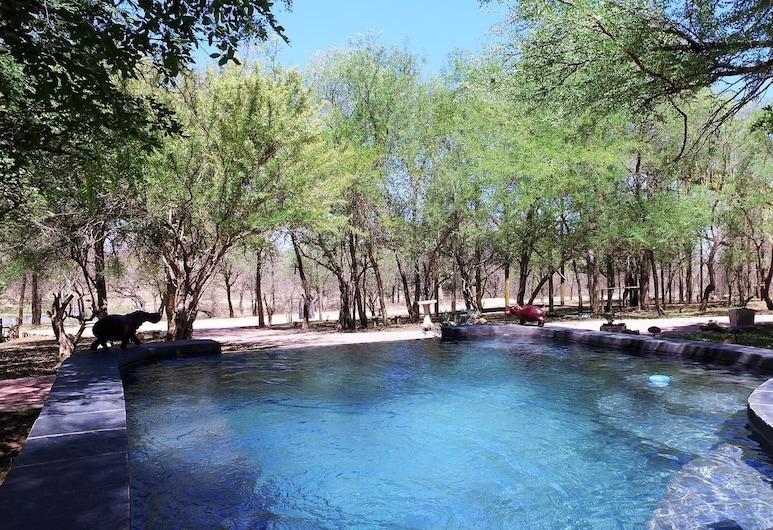 Hyena's Call, Marloth Park, Vonkajší bazén