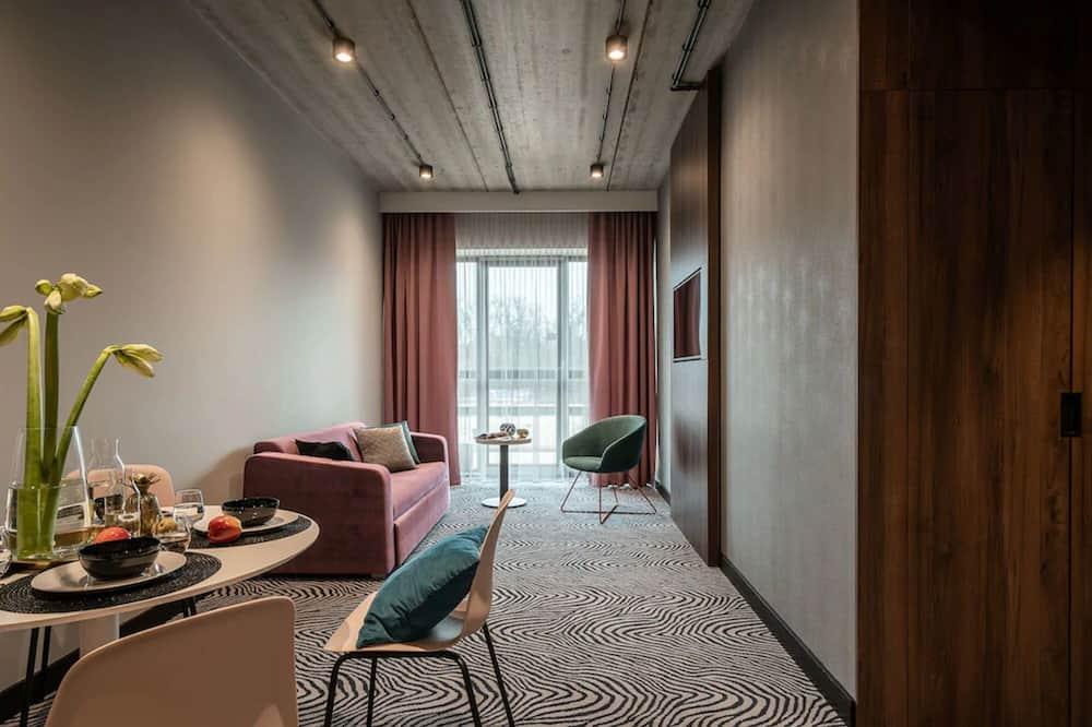 デラックス アパートメント - リビング ルーム
