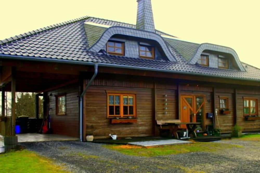 Ferien Bei Freunden Im Holzhaus