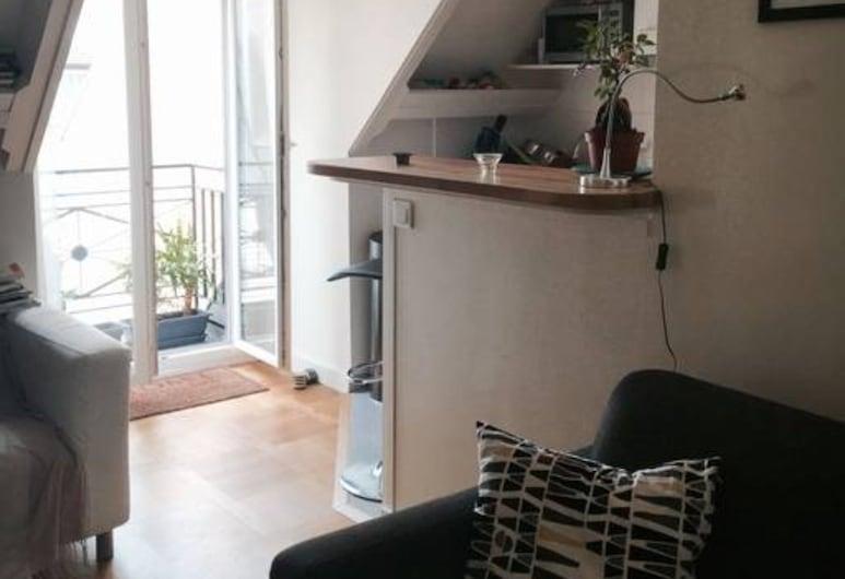 拉丁區景觀開放式公寓酒店, 巴黎, 客廳