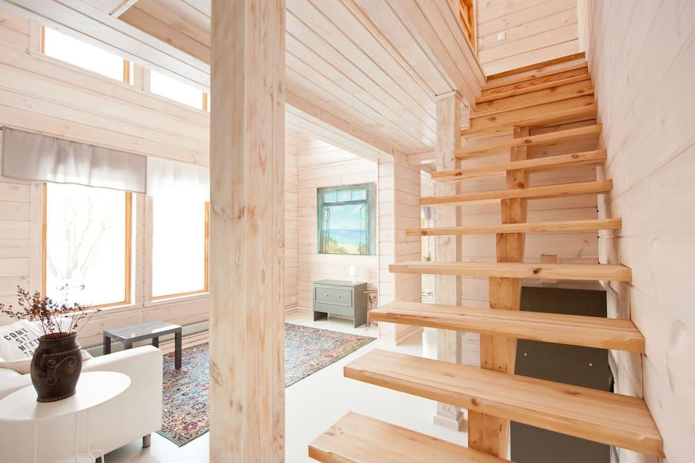 Deluxe Villa, Sauna - Living Room