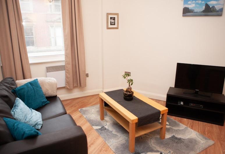 Modern 1 Bedroom in the Heart of Bristol, Bristol, Stue