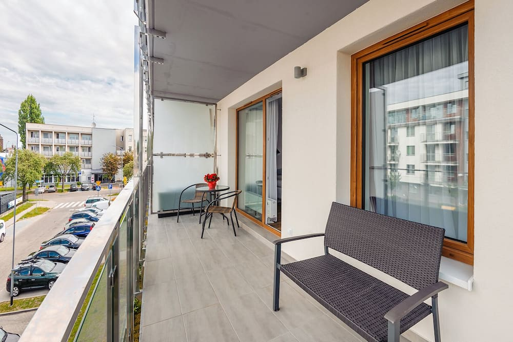 Apartment (22 - ul.Bałtycka 11 B) - Balkon