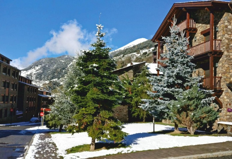 Apartment With 2 Bedrooms in El Tarter, With Wifi - 800 m From the Slopes, El Tarter, Vista aérea