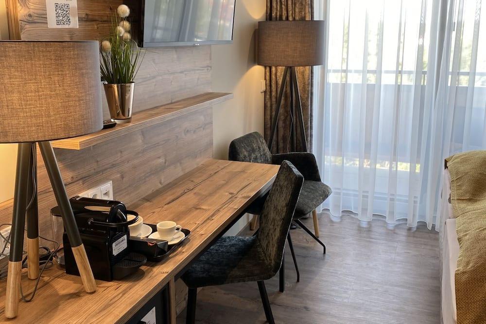 Komforta divvietīgs numurs - Dzīvojamā istaba