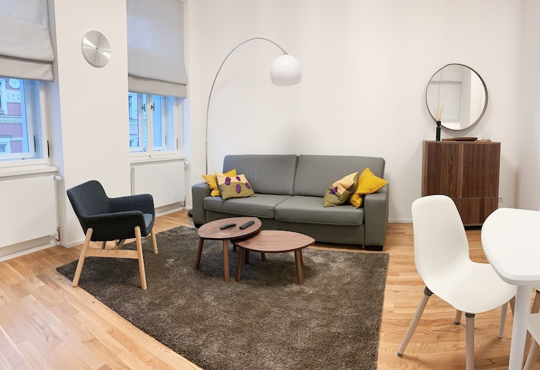 Residence Gregorius, Praga, Apartamento, 1 cama King com sofá-cama, para não fumantes, Quarto