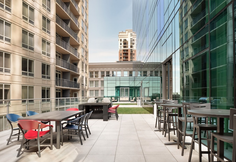 Homewood Suites by Hilton Chicago Downtown South Loop, Chicago, Terras
