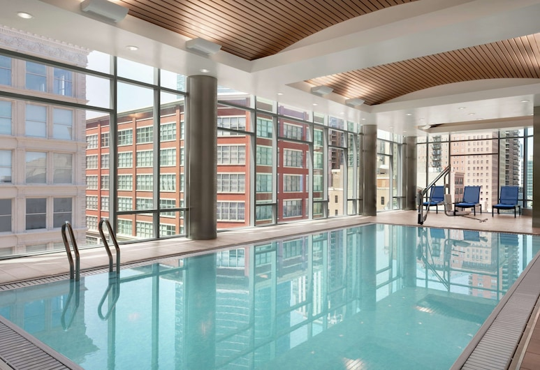 Homewood Suites by Hilton Chicago Downtown South Loop, Chicago, Zwembad
