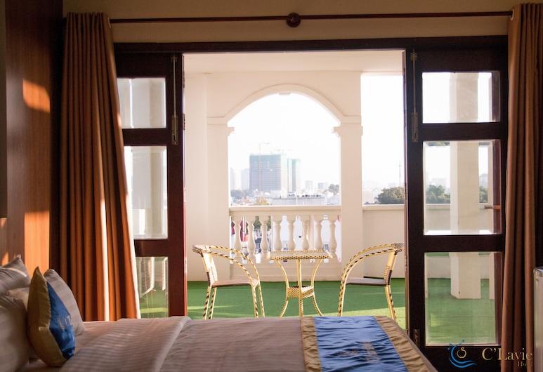 C'Lavie Hotel - Saigon Airport Hotel, Bandar Raya Ho Chi Minh, Luxury Double Room, 1 Katil Ratu (Queen), City View, Pemandangan Bandar