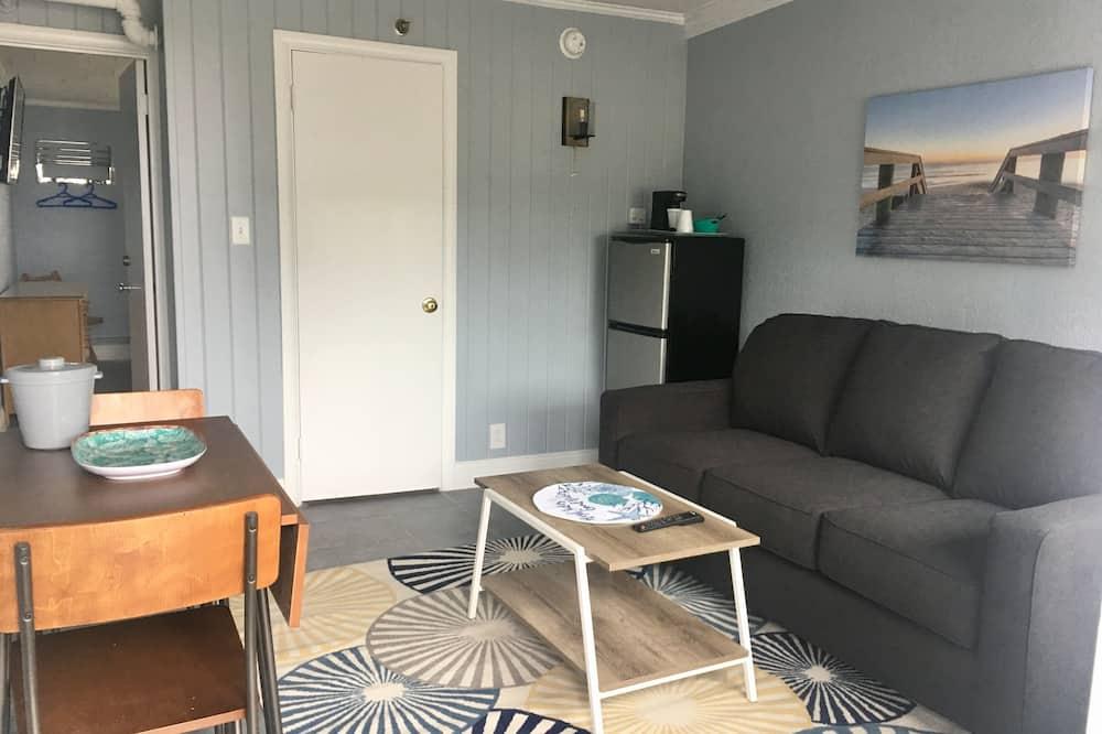 Deluxe-Suite, 1King-Bett und Schlafsofa, Nichtraucher - Wohnbereich