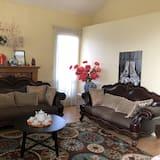 חדר דה-לוקס, 2 מיטות קווין, ללא עישון - אזור מגורים