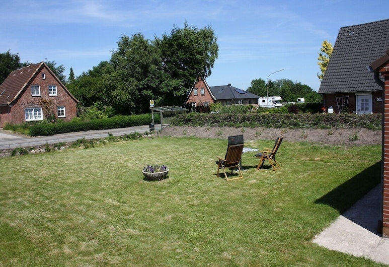 Experience NORDSEE - Welcome to Hockensbüll - Modern holiday home to relax, Husum, Naktsmītnes teritorija