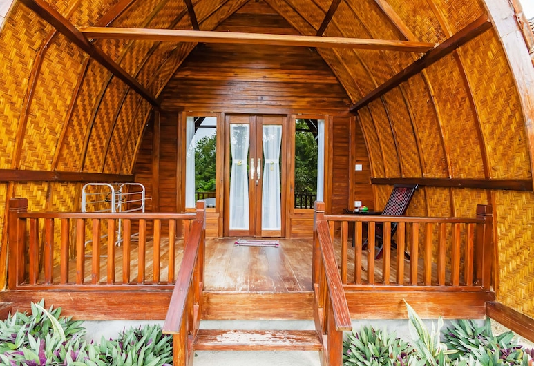 Butterfly Bungalows, Penida Island, Standard Double Room, 1 Queen Bed, Private Bathroom, Hill View, Terrace/Patio