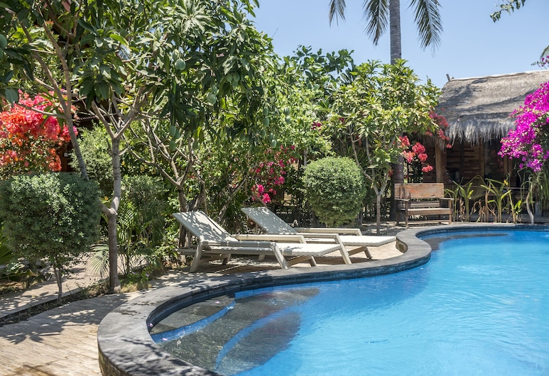 Honeyst Bungalow, Gili Trawangan, Piscine en plein air