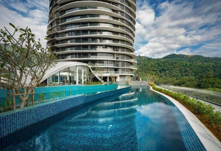 Arte Serviced Apartment Penang, Džordž Taunas, Lauko baseinas