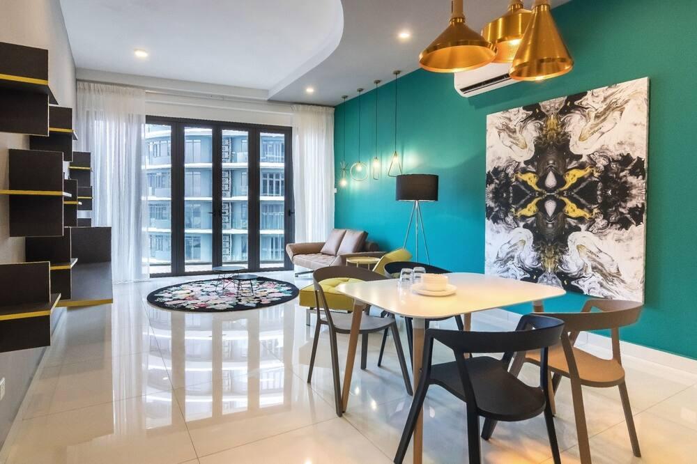 Apartament typu Deluxe, 3 sypialnie - Powierzchnia mieszkalna