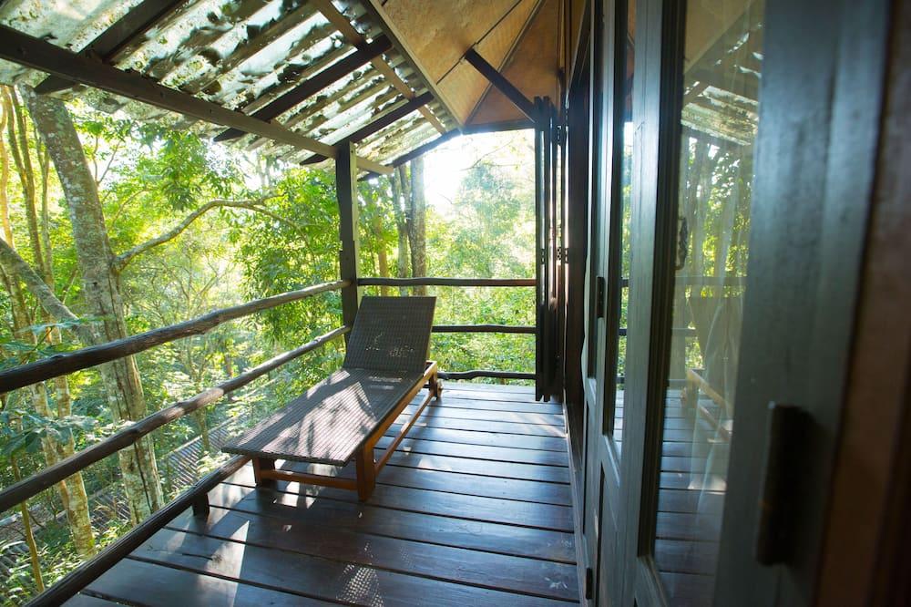 Bamboo Bungalow  - Balcony