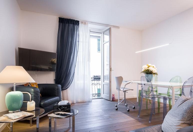 Como Design Apartment, Como, Apartment, 1 Bedroom, City View, Living Area
