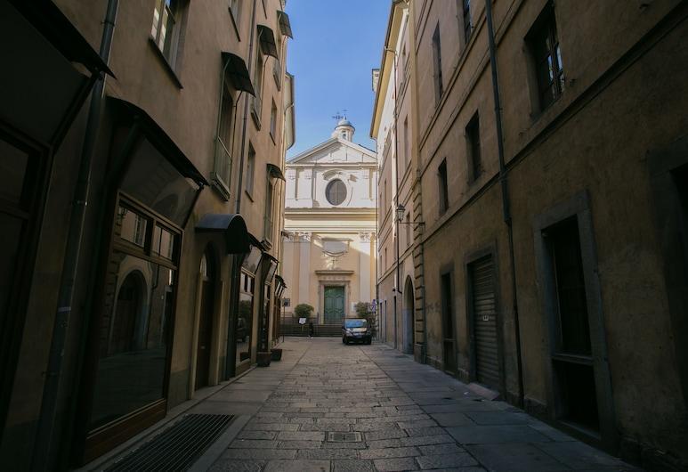 La Corte Verde, Turin, Außenbereich