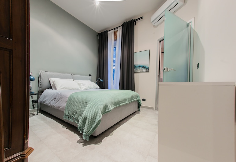 La Corte Verde, Torino, Appartamento, 1 camera da letto, al piano terra, Camera