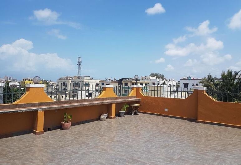 PANAROMA GARDENS HOTEL MOMBASA, Mombasa, Terrass
