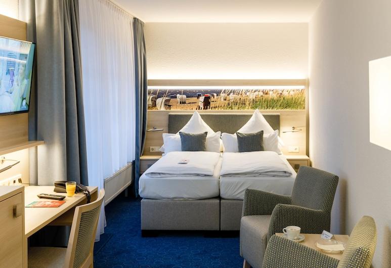 Hotel Haus Seeschwalbe, Cuxhaven, Comfort Single Room, Balcony, Guest Room